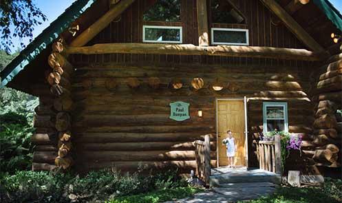 wedding-locations-2 Paul Bunyan log cabin, Sparta, WI, Justin Trails Resort