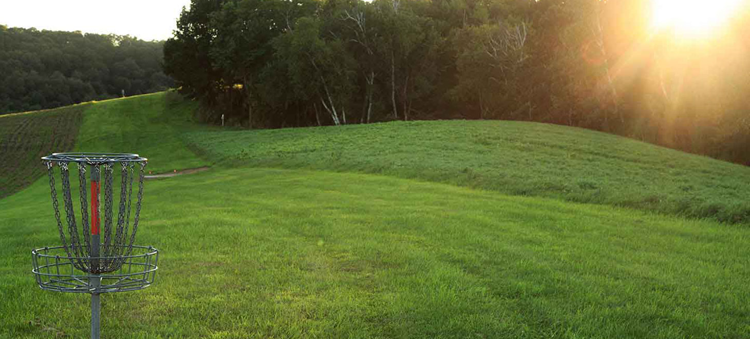 Play Frisbee golf, perfect location for Wisconsin Retreats