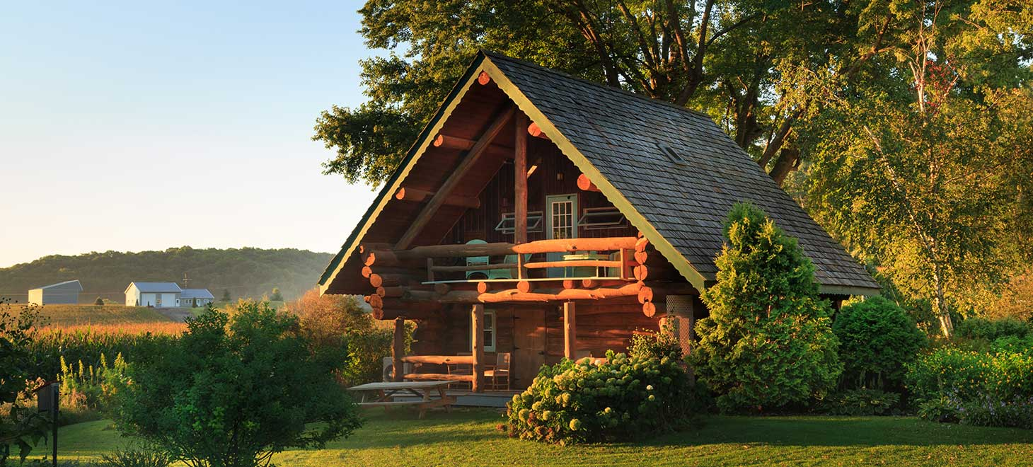Bed and Breakfast Cabins in Wisconsin
