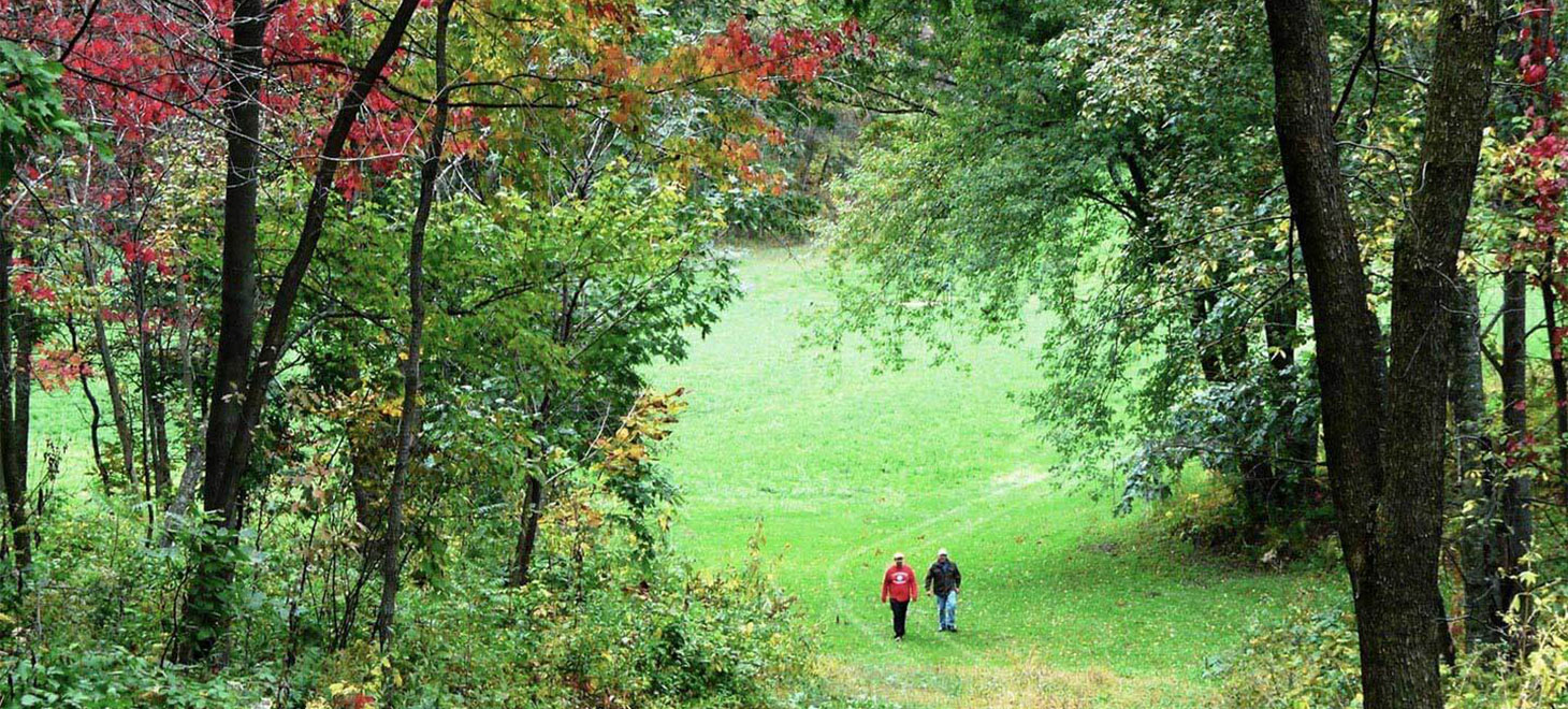 Wisconsin Getaway with great onsite hiking trails