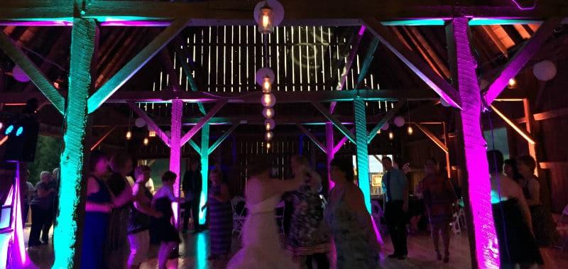 Wisconsin barn wedding venue, Sparta, WI, Justin Trails Resort