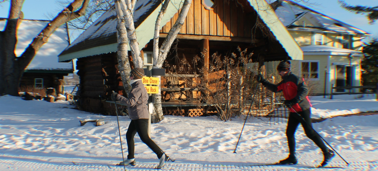 Ski Out of Your Cabin Wisconsin Bed and Breakfast