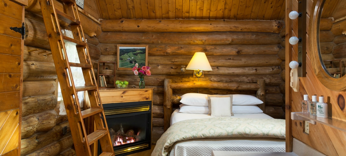 Bed and Breakfast Log Cabins in Wisconsin