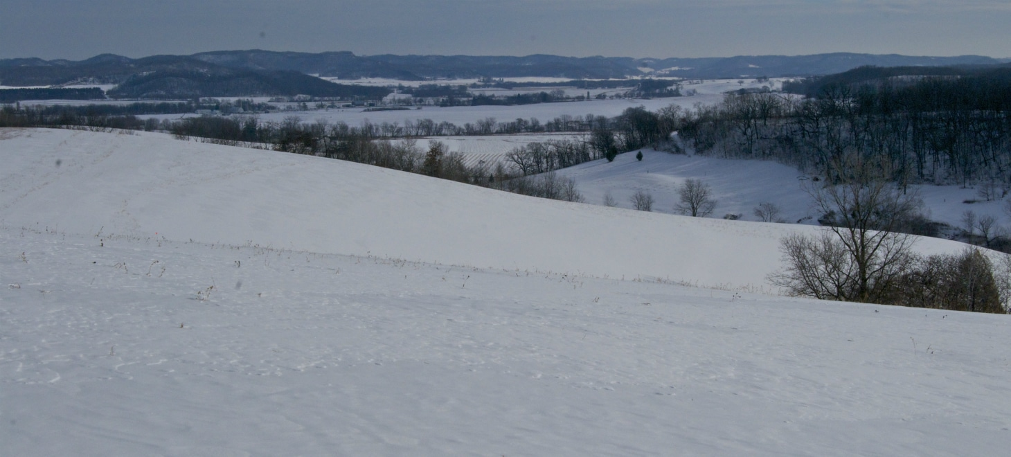 Our farm makes for a great vacation spot in Driftless  Wisconsin