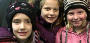 Girls Snow tubing birthday party, Sparta, WI, Justin Trails Resort