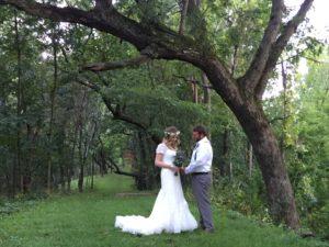 Bride & Groom wedding photo opportunities, Justin Trails Resort, Sparta, WI