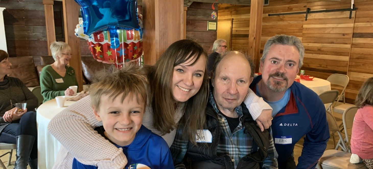 Retreats & Events: Don's 80th Birthday Party in The Studio
