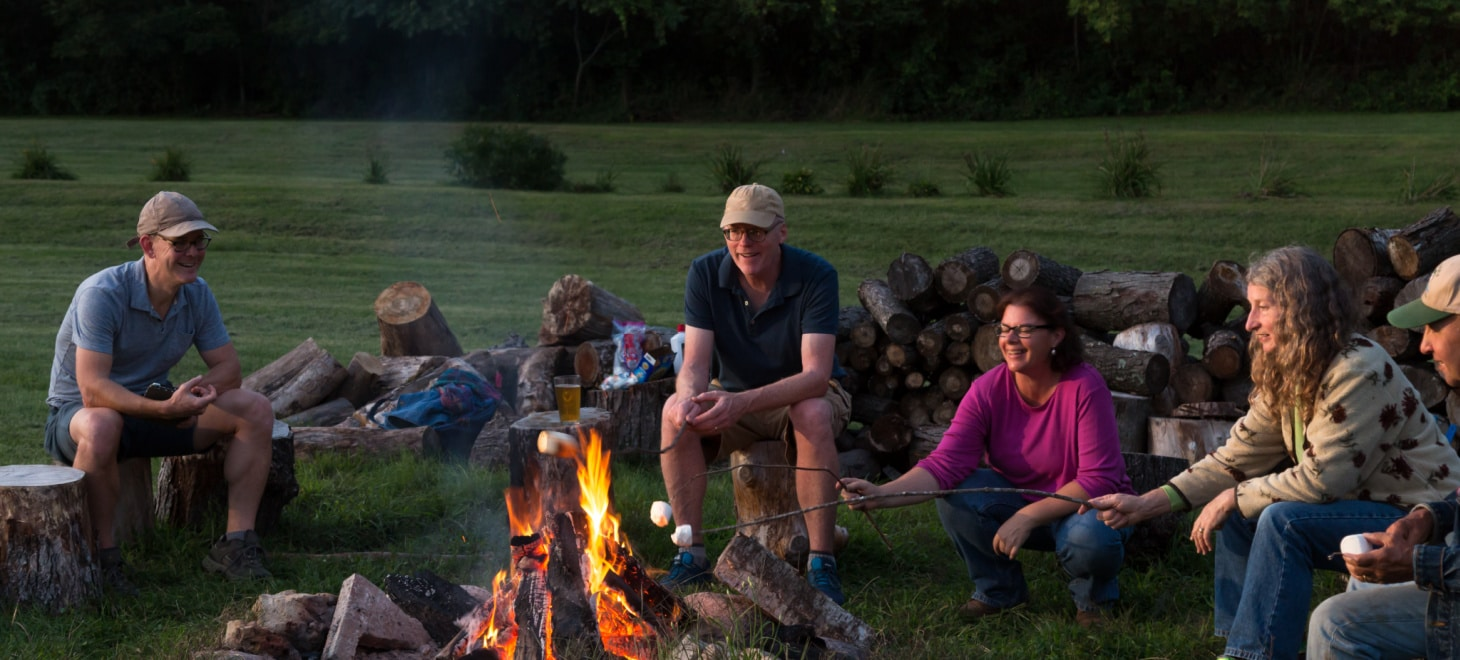 Go Glamping in Wisconsin at our Romantic Camping Cabin