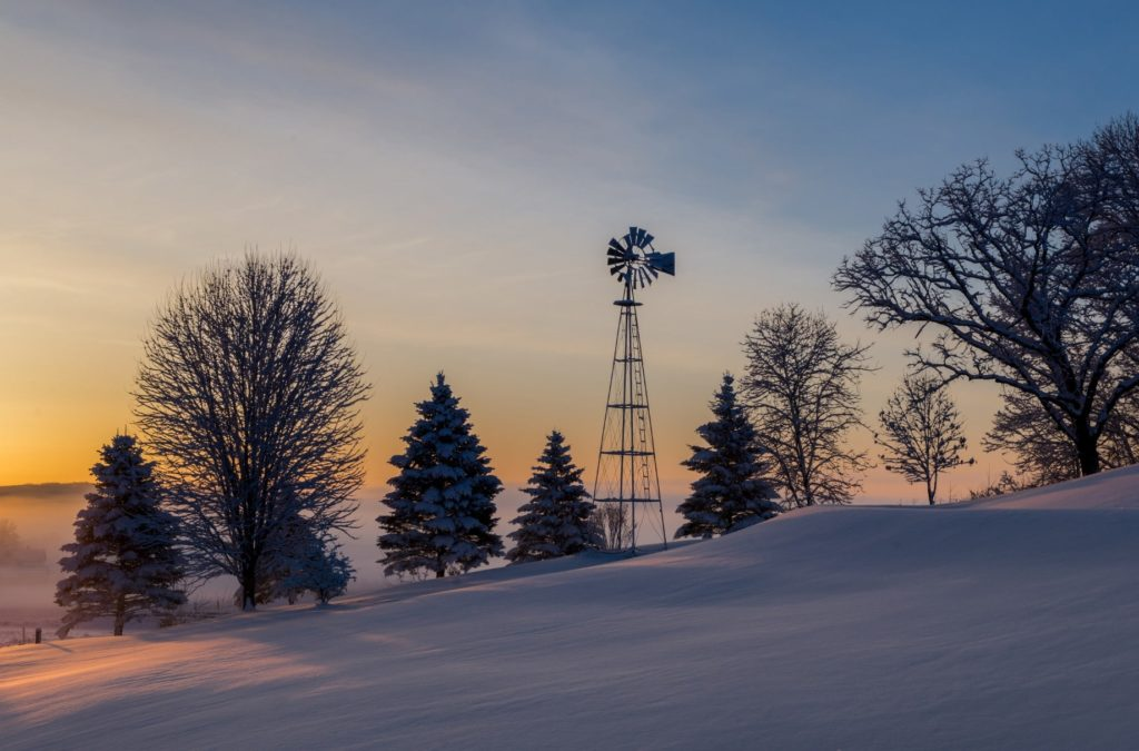 Winter at our Wisconsin Bed and Breakfast is a visual feast.