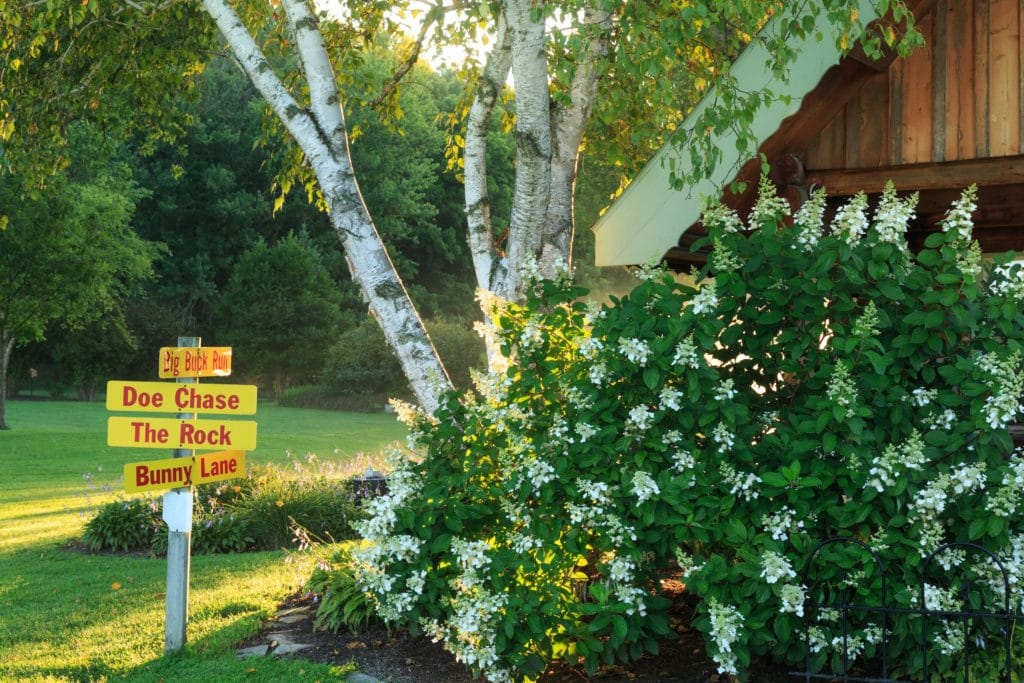 Oure Wisconsin Bed and Breakfast offers 200 sprawling acres of trails.