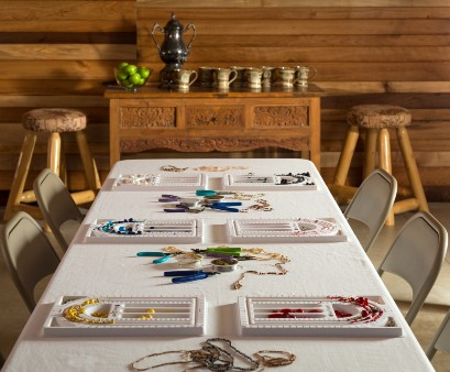 Jewelry Making in the Studio at Justin Trails Resort