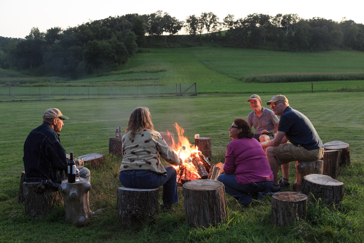 glamping in Wisconsin