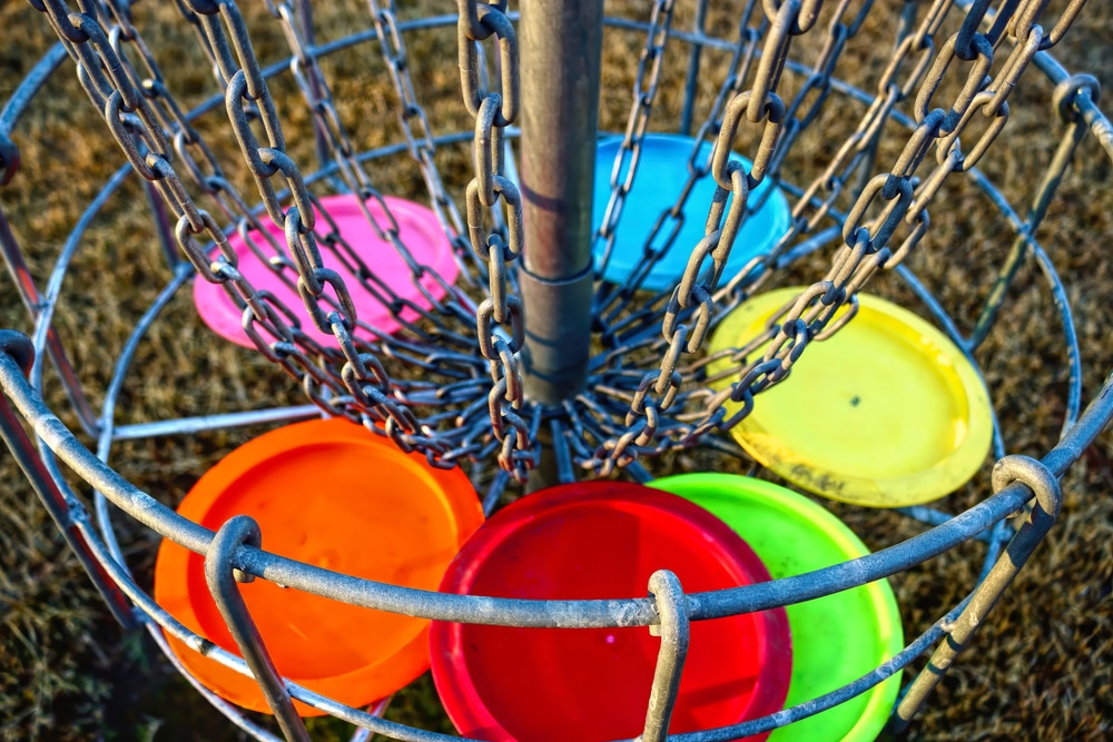 disc golf courses