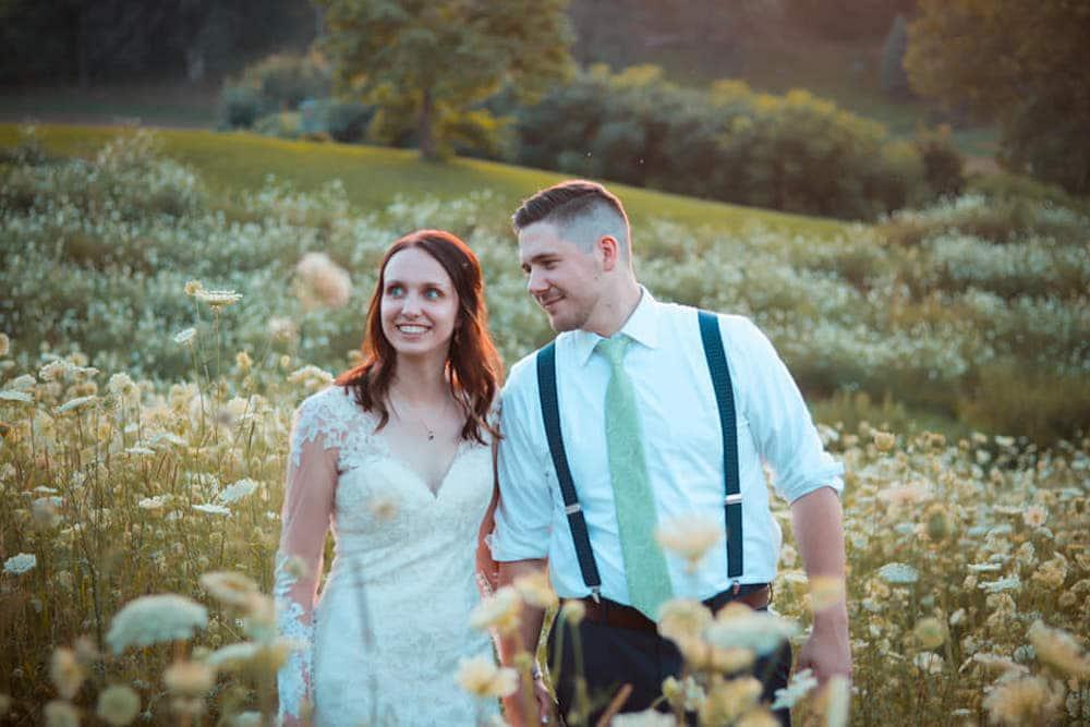 barn wedding in Wisconsin